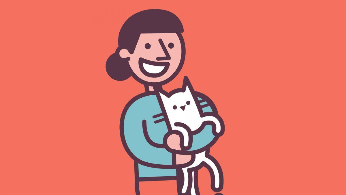 Bannerbild für Blogbeitrag: Kurzbesuche oder Übernachtungen bei Katzen