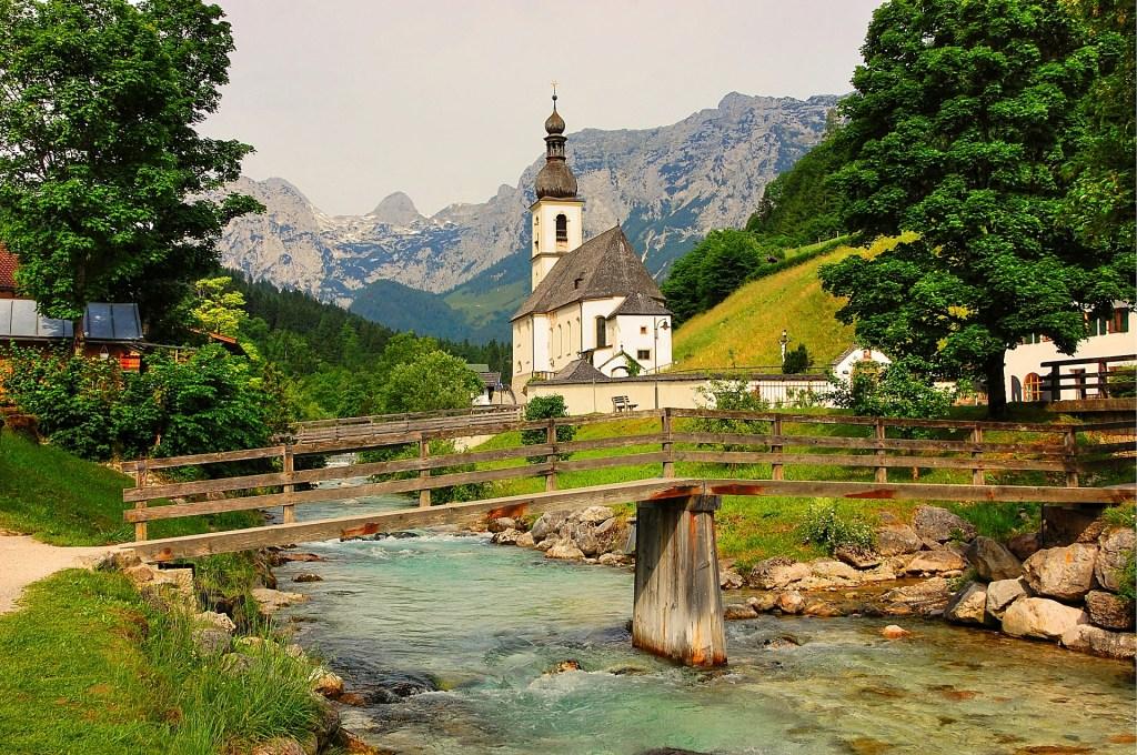 Ramsau in Bayern.